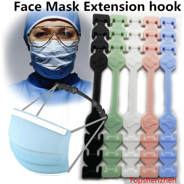 best selling Third Gear Adjustable Anti-Slip Mask Ear Grips Extension Hook Face Masks Buckle Holder Adjustable Face Mask Hook Ear Buckle