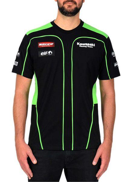 Libero GP MOTO il trasporto per la camicia classico comodo traspirante T equitazione Racing Team Uomini Sport Moto KAWASAKI T-shirt