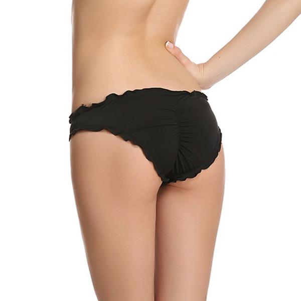 De haute qualité 100% usine Doublé Bow Bottom Cheeky Monokini bas de bikini sexy maillots de bain de masse choix multicolor stock