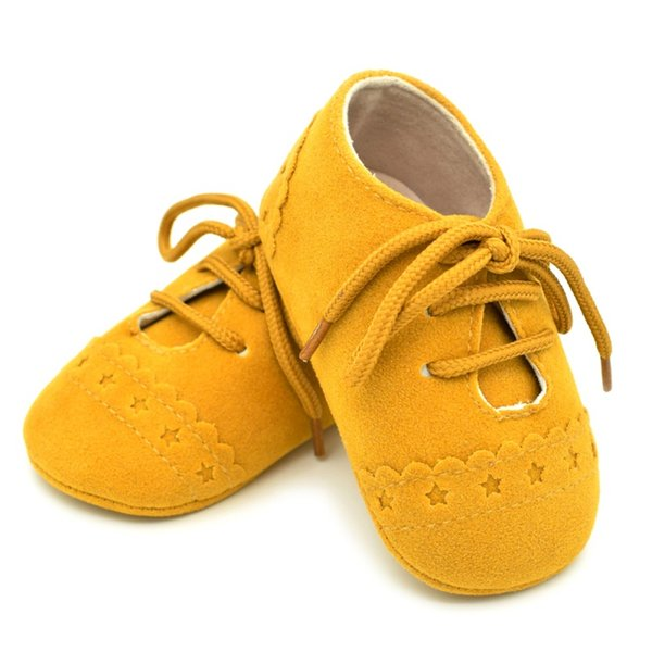 Boy Girl Soft Sole Crib Sneaker Embroidery Prewalker Sapatos 4 Colors Toddler First Walker Baby Shoes