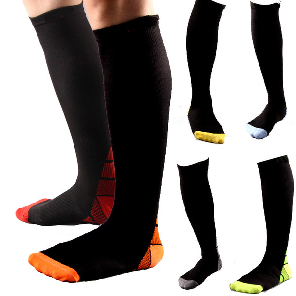 wholesale price huge inventory detailed images 2019 Compression Socks Athletic Running Socks For Nurses Medical Graduated  Nursing Travel Running Long Tube Sports Socks MMA2739 From Mr_sport, $2.13  ...