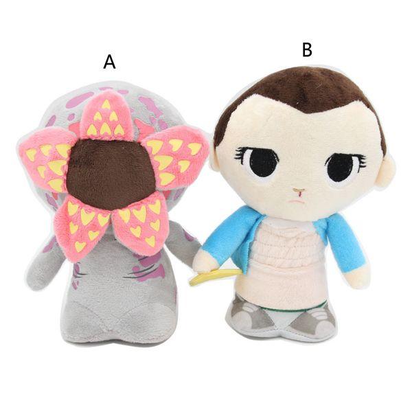 18 centímetros (7.08inch) Stranger Things Temporada 3 pingente brinquedo de pelúcia 2019 brinquedos New Onze Demogorgon Stuffed Boneca Presente de Natal B