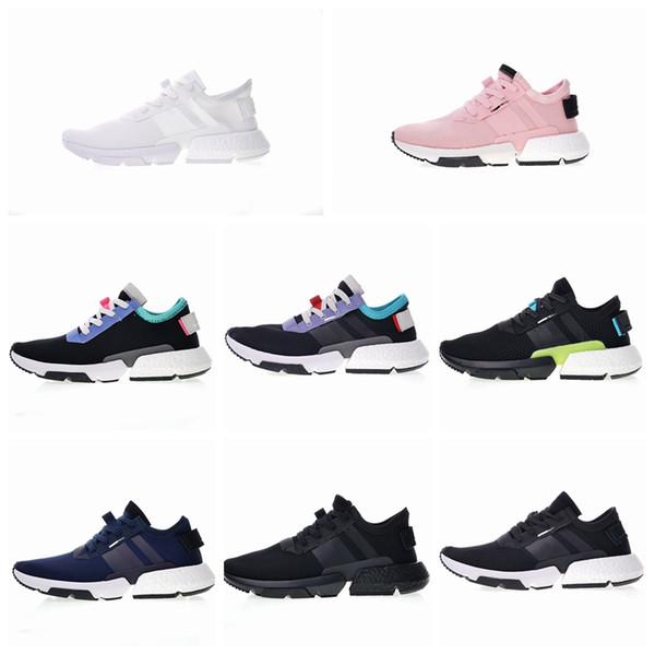 Adidas P.O.D-S3.1 Système Hommes Femmes Sport Chaussures De Course Triple Noir Blanc Bleu Pod S3.1 Baskets De Tennis Baskets Taille 36-44