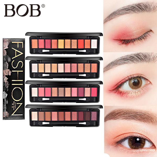 LAIKOU Brand 10Colors Eye Shadow Matte EyeShadow Nude Palette Shine Eye Shadow Makeup Nude Makeup Set Shimmer Cosmetics Korea