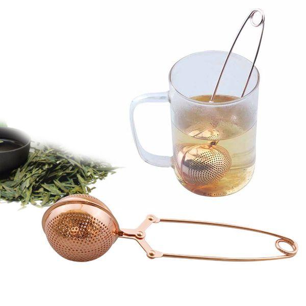 Strainer Stainless Steel Tea Infuser Reusable Metal Tea Bag Filter Loose Leaf Green Tea Strainer for Mug Teapot Teaware