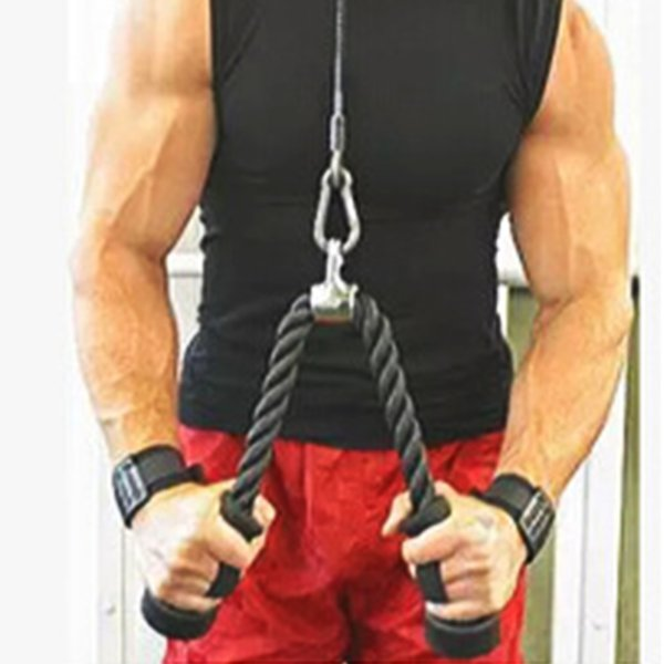 Heavy Duty Fitness Equipment Pull Rope Grip Strength Rope For Shoulders Training