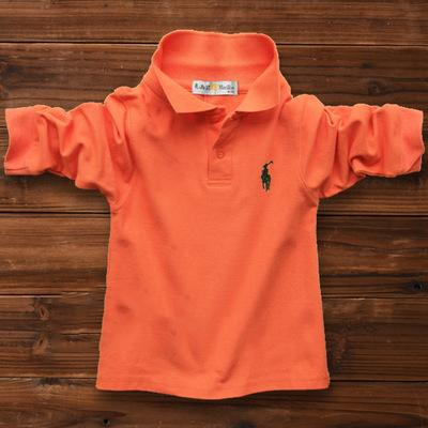 Long sleeve orange