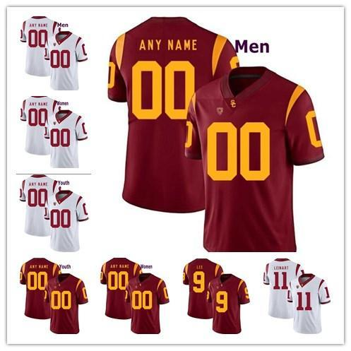 new style 545ac a3a48 USC Trojans College Football Jersey Current Players And Customzied  Specially Made Custom Mens Women Youth Personalized Stitched UK 2019 From  ...