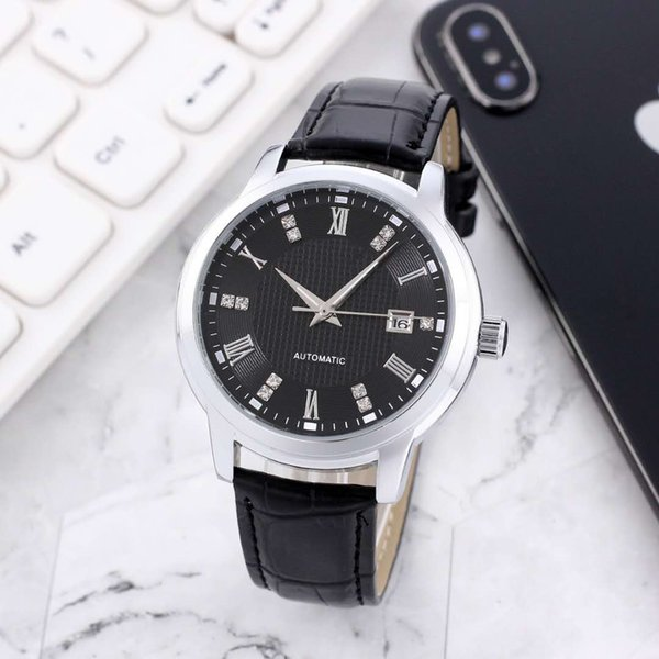 Second Hand Watches >> Luxury Mens Watches Glide Smooth Second Hand Watch Luminous Automatic Men S Watch Date Just Diamond Scale Top Quality Watches Shoes Online Shopping