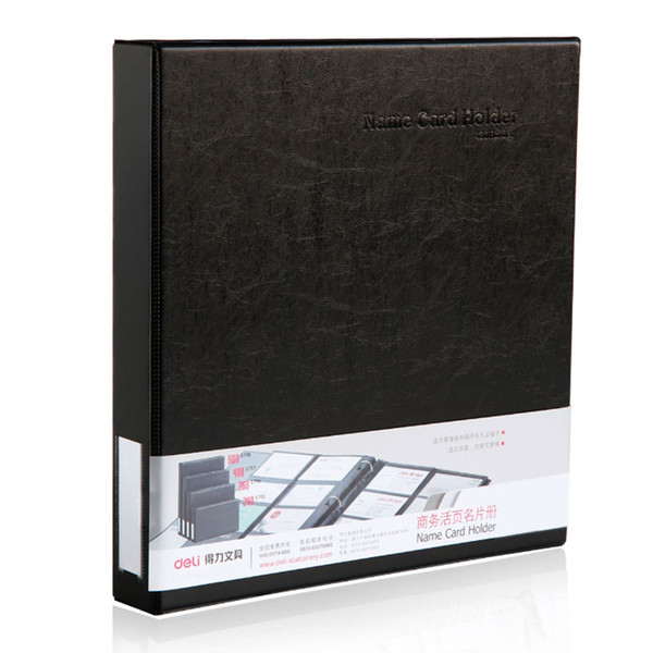 480 Sheets high capacity Office Name ID Bank Credit Cards Finance Insurance PVC Holder Book Case Business Card Files