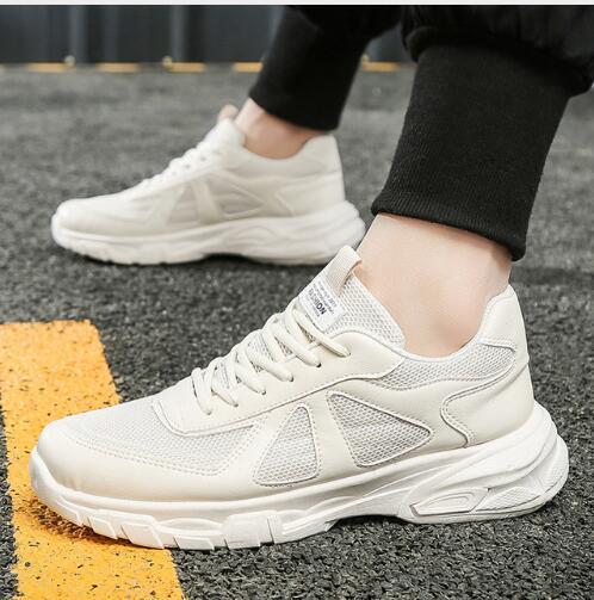 2019 Cheapest Air Mesh Men'S Shoes Summer Casual Men Shoes Fashion Leather Casual Shoes Men Sneakers