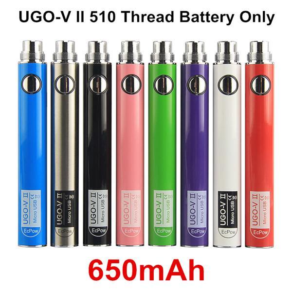 Authentic UGO V II 650mAh