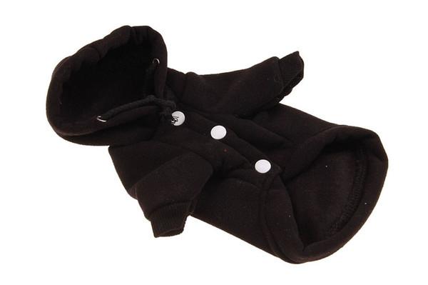 10PCS Pet Clothes Dog Fleece Vest Pet Cold Weather Vest Jacket Coat Dog Cotton Clothes Sweaters 6 Sizes 4 Colors
