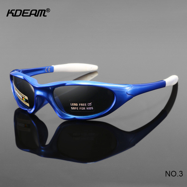None Lead EP Material Chilren SunGlasses 3-6 year Old KDEAM Silicone Polarized Sunglasses Child Boys Sunglass Kids Eyewear KD2506