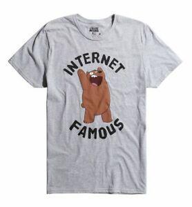 Wir bloßes Bären-Internet-berühmtes genehmigtes erwachsenes T-Shirt