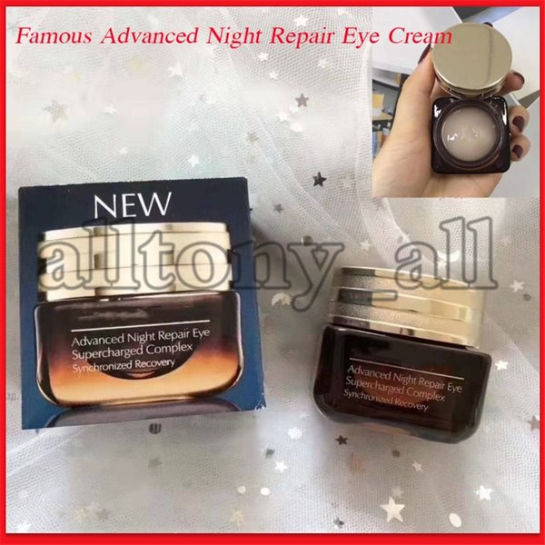 best selling 2020 Famous Advanced Night Repair Eye Care Eye Cream Eye Supercharged Complex Synchronized Recover 15ml with high quality