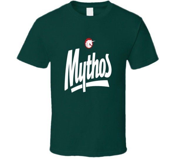 Mythos Greek Beer Drink Alcohol T Shirt Funny free shipping Unisex Tshirt top