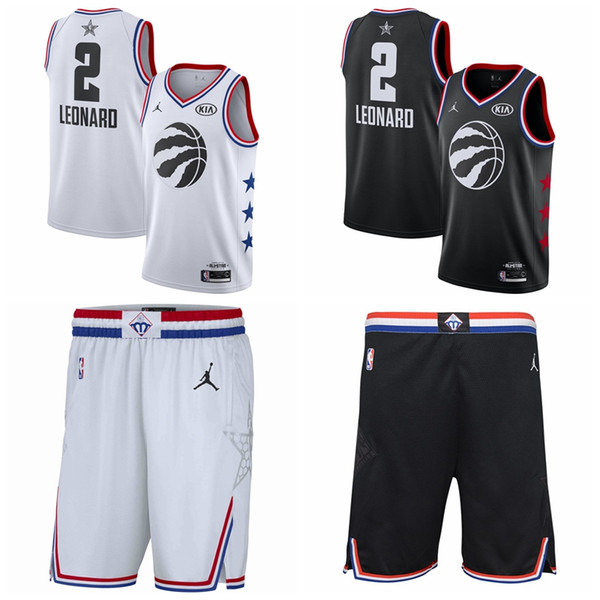 new concept c7f99 8cd59 2019 Toronto Kawhi 2 Leonard Raptors Jersey Retro Mesh Vince ...