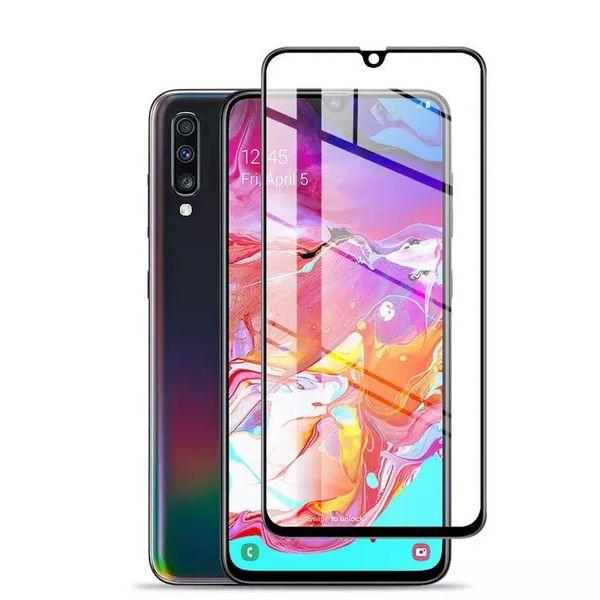 Film de protection pour écran en verre trempé, pleine couverture, pleine couche, 9D pour Samsung Galaxy S10E A105 A305 A50S A6S A6S A10 A20 Core