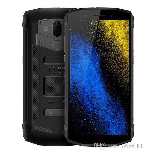 Blackview bv5800 4g phablet android 8.1 5.5 polegadas quad core 2 gb + 16 gb 13.0mp + 0.3mp câmera traseira ip68 à prova d 'água 5580 mah 4g celular