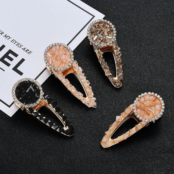 NEW Wholesale Handmade Women's Fashion Crystal Bead Hair Clip Hairband Comb Bobby Pin Barrette Hairpin Headdress