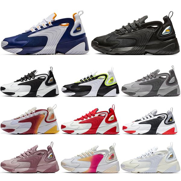 Zapatillas Nike Zoom 2K BlancoNaranja Mujer