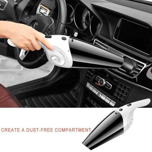 Портативный автомобильный автомобильный пылесос для пылесосов высокой мощности, 120 Вт / 12 В, пылесос для влажной и сухой уборки двойного назначения