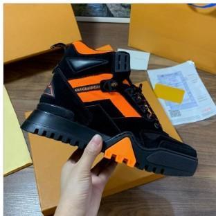 Новые поступления мужчины замша лоскутное бренд платформы высокие кроссовки, дизайнерские квартиры мода осень-зима натуральная кожа причинно обувь 38-45