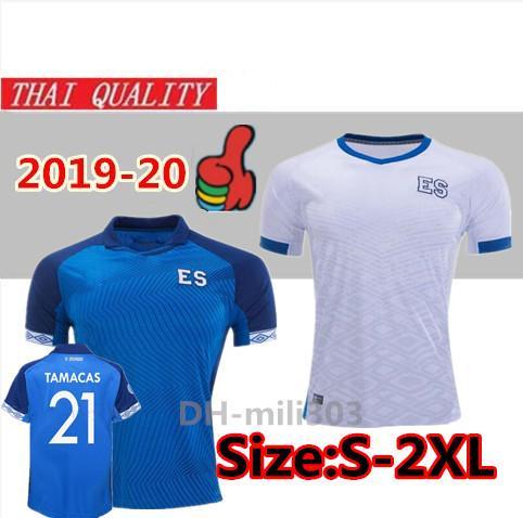 best selling 2019 2020 Gold Cup El Salvador soccer jerseys 19 20 Federación Salvadoreña de Fútbol PJANIC TAMACAS home away football shirt uniforms S-2XL