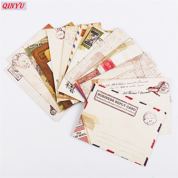 Vintage Small Kraft Paper Window Envelopes Wedding Party Invitation Envelope Gift Envelope Invitation Cards Accessories 5z Card Happy Birthday Cards