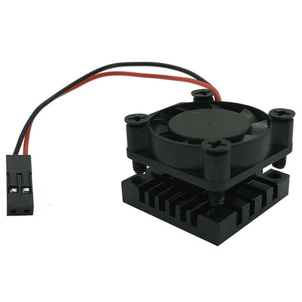 Raspberry Pi 3B+ Cooling Fan 5V Cooling Radiator Heatsink Module with Thermal Adhesive 25*25*16M