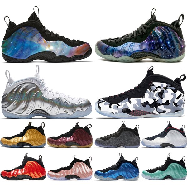 Cheap New Alternate Galaxy 1.0 2.0 Olympic Penny Hardaway Sequoia WMNS Chrome Basketball Shoes foams one men sports sneakers designer