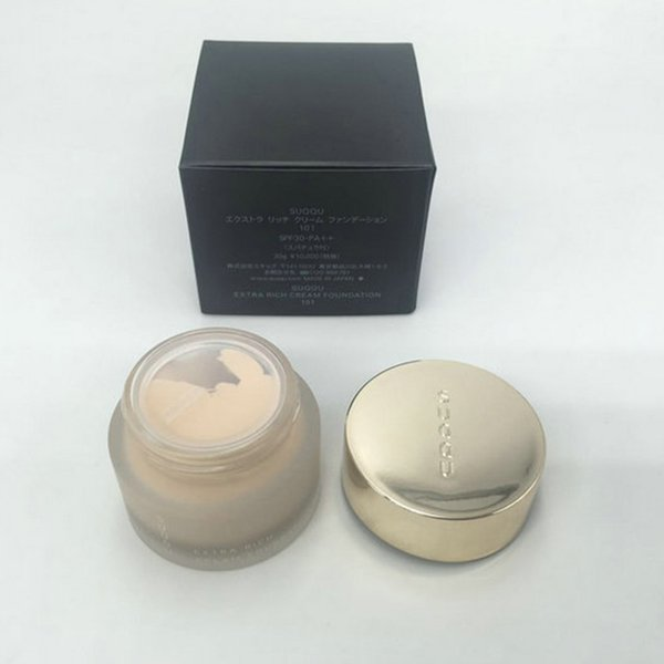 2019 Top Quality In Stock! Suqqu Extra Rich Cream Foundation Japan Brand 101 102 002 202 Color