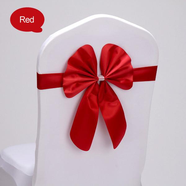 свадебный стул пояса спандекс стул пояса лайкра стрейч-бабочкой галстук-бабочка вечеринка отель шоу украшения