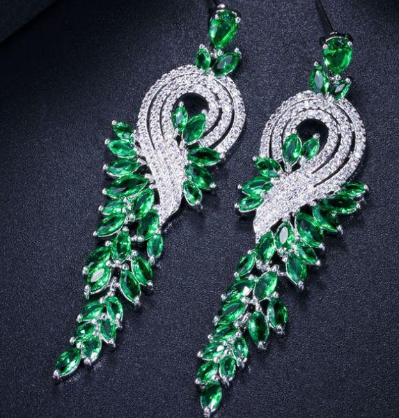 hohe Qualität und niedriger Preis Diamant Kristall mehr Farbe 925 Silber Dame 35.5rte