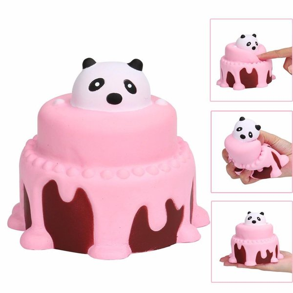 11CM Squishy Squeeze Cake Squishy Slow Rising Cream Scented Decompression Toys squishy oyuncak antistress squishi kids toys T507