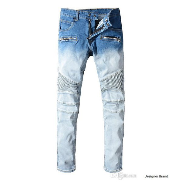 HOT Sale New 2019 Spring And Autumn New Men's BalJeans Nine Trousers Street Style Teen Trendy Casual Underwear Boys Fashion Slim pants