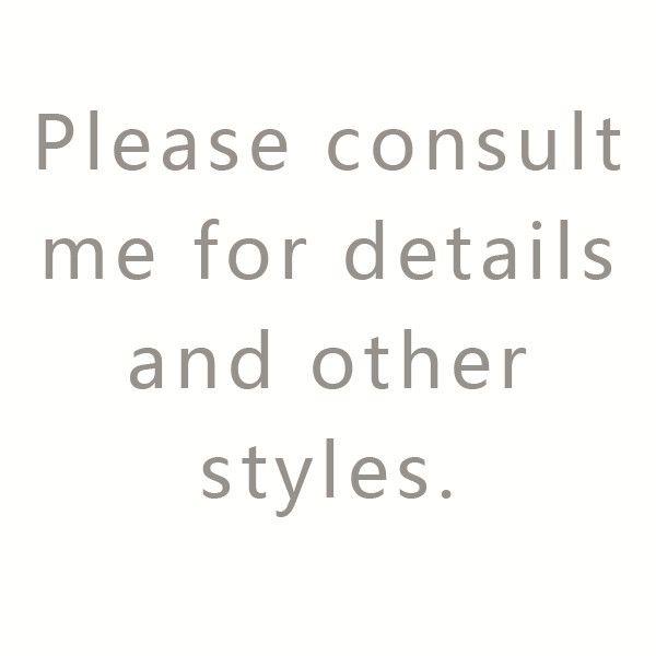 Por favor entre em contato comigo para outros estilos.
