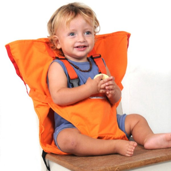 Portable Baby Chair Infant Seat Product Dining Lunch Chair/Seat Safety Belt Feeding High Chair Harness Baby Seat