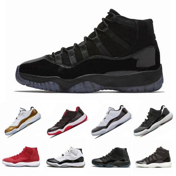 11 XI Basketball Schuhe Herren High Concord 45 Heiress Platinum Tint Space Jam Low UNC 11 s Designer Turnschuhe Sportschuhe US 5.5-13