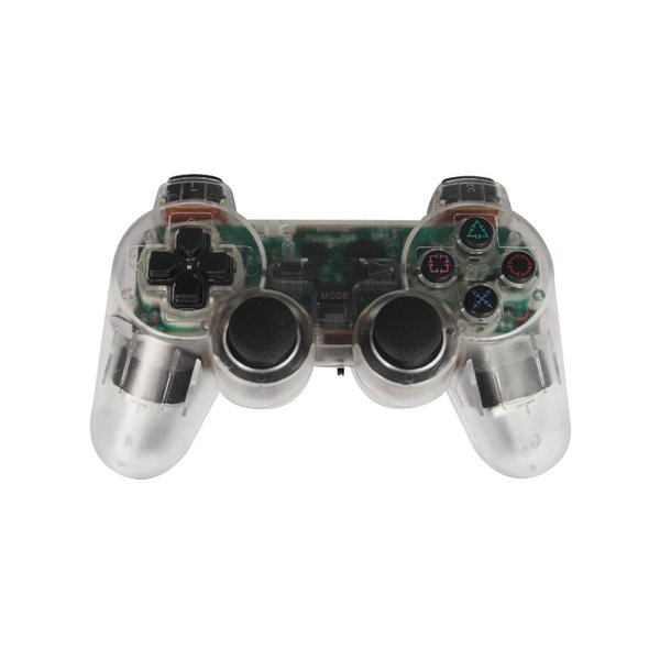 Game Controller for PS2 2.4GHz Wireless Games Gamepad Joystick for 2 Vibration Video Gaming Play Station Joypad
