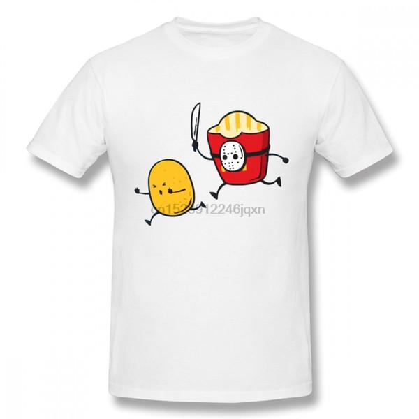 The 13th Friday T Shirt Fries Tee per uomo Cartoon Camiseta O-Neck S-6XL T-shirt taglie forti Homme