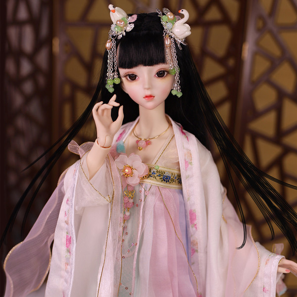 Dream Fairy 1/3 BJD Blyth Doll Joint Body Gu-Yu with makeup include outfit shoes hair and Gift box gift toys high quality ICY,SD