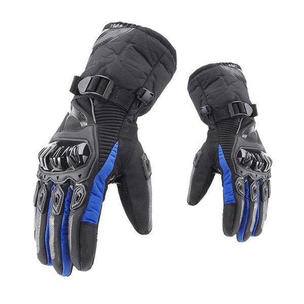 GLCC Motorcycle Gloves M/L/XL/XXL Winter Heated Warm Waterproof Touch Screen Anti Fall Motocross Mitt for Motorbike ATV