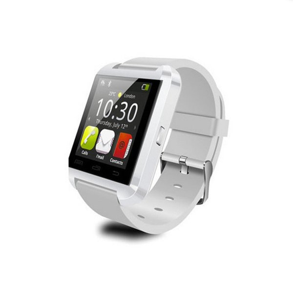 Bluetooth U8 Smartwatch Touch Screen For iPhone 7 Samsung S8 Android Phone Sleeping Monitor Smart Watch With Retail Package Wholesale