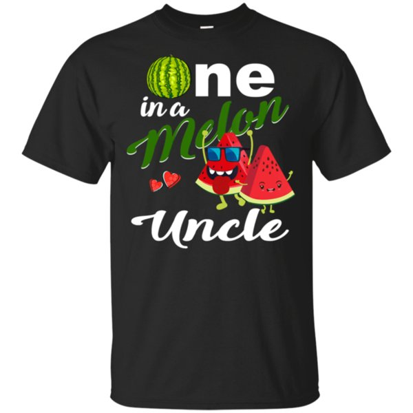 Men'S One In A Melon Uncle Watermelon T-Shirt Size M-3Xl New Funnytee Shirt