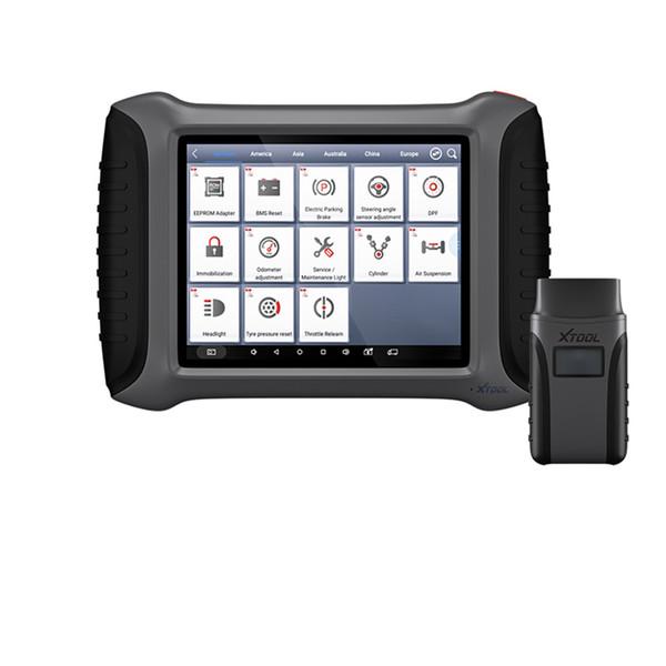 XTOOL A80 H6 Tam Sistem Araç Teşhis aracı Araba OBDII Onarım Aracı Araç Programlama / Kilometre Sayacı ayarı
