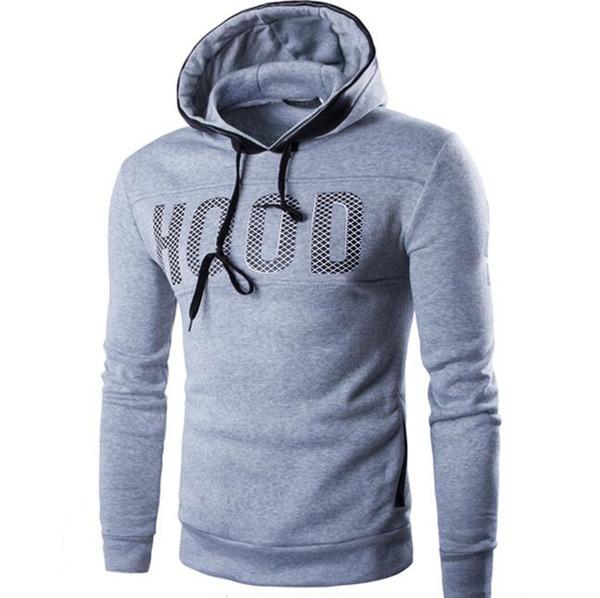 Marken-Männer Chest Hoodies Brief Printing Sweatshirt Male Hoodie Hip Hop Herbst-Winter-O-Ausschnitt Hoodie Herren Pullover 3XL