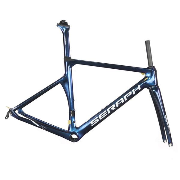 China road bike carbon frameset ud road bike carbon frame custom color and logo full carbon frameset 2 years warranty
