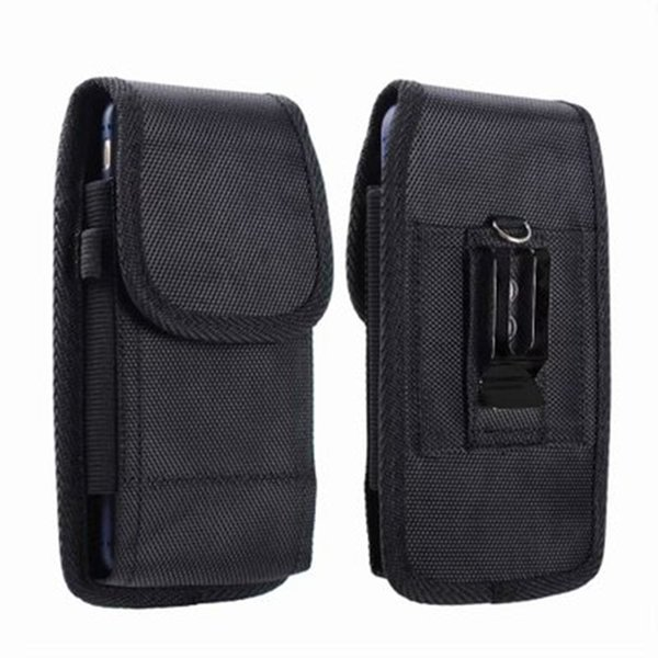 Mobile phone pocket Belt Clip Man Flip Leather case Cover pouch Bag Case Universal For 3.5-6.3 cell Phone free FEDEX TNT